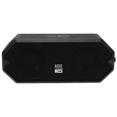Altec Lansing HydraBlast Waterproof Bluetooth Wireless Speaker - Black/Royal Blue