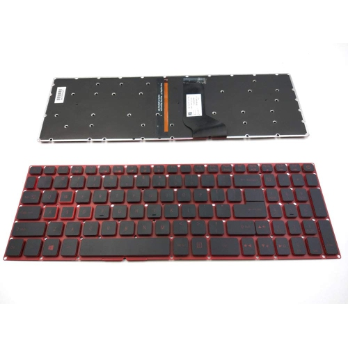 LaptopKing Replacement keyboard for Acer Nitro 5 AN515 AN515-51 AN515-52 AN515-53 Series Laptop Red color with Backlight