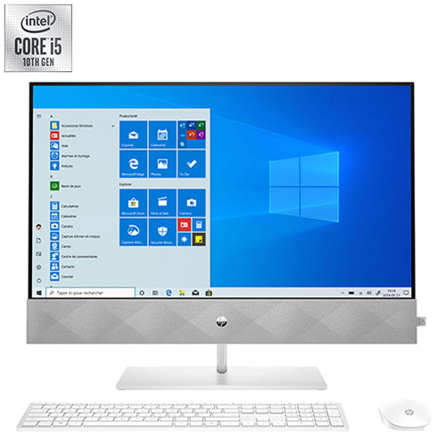 """HP Pavilion 27"""" All-in-One PC - White - En"""