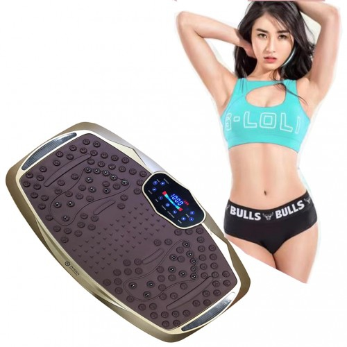 Body Shaping Exercise Vibration Platform Fitness Machine ...