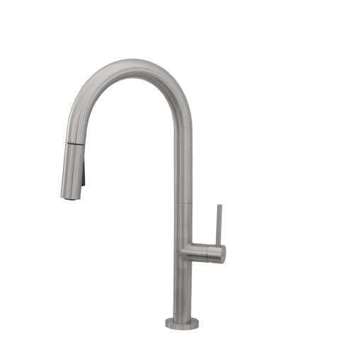 Single Handle Pull Down Kitchen Faucet K-141B