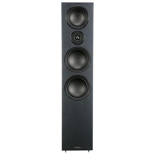 Mission LX-5 200-Watt 3-Way Tower Speaker - Single - Black