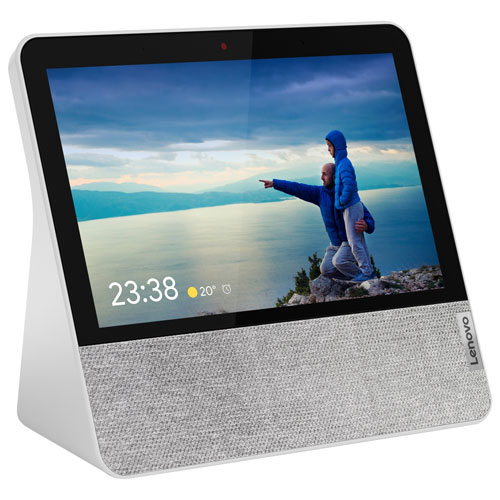 Lenovo Smart Display 7 With Google Assistant Blizzard White Best Buy Canada
