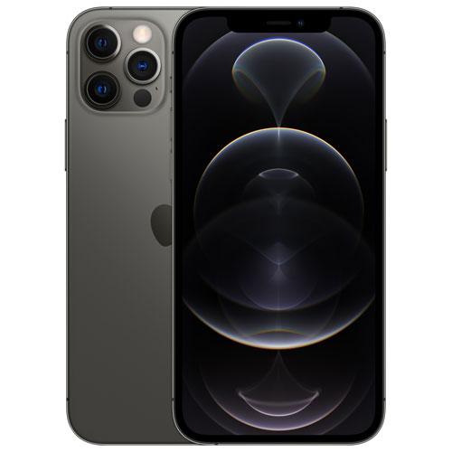 Telus Apple Iphone 12 Pro 128gb Graphite Monthly Financing Best Buy Canada