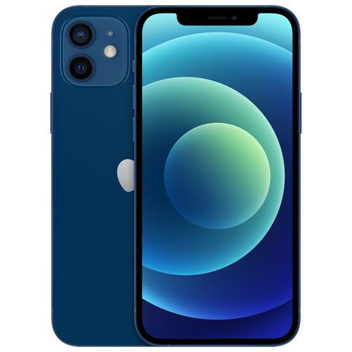 Telus Apple Iphone 12 64gb Blue Monthly Financing Best Buy Canada