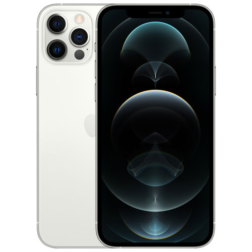 iPhone 12 Pro de 128 Go d'Apple offert par Rogers - Argenté - Financement mensuel