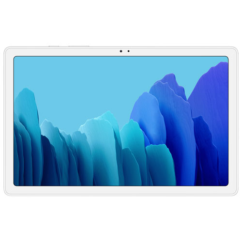"""Samsung Galaxy Tab A7 10.4"""" 32GB Android 10.0 Tablet With 8-Core Processor - Silver"""