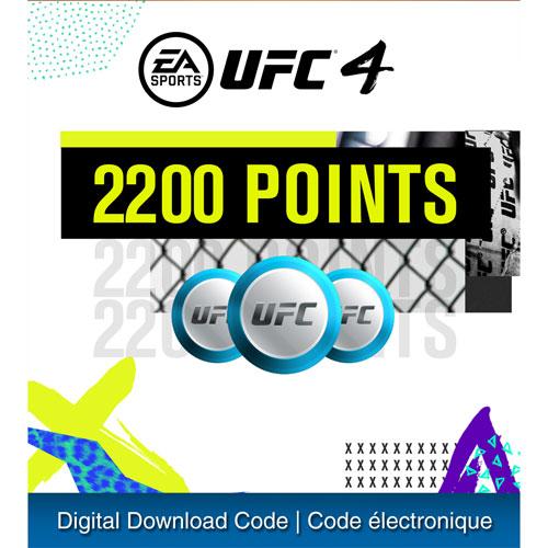 UFC 4 - 2200 UFC Points - Digital Download