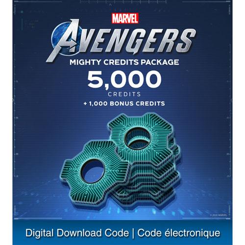 Marvel's Avengers - 6000 Credits - Digital Download