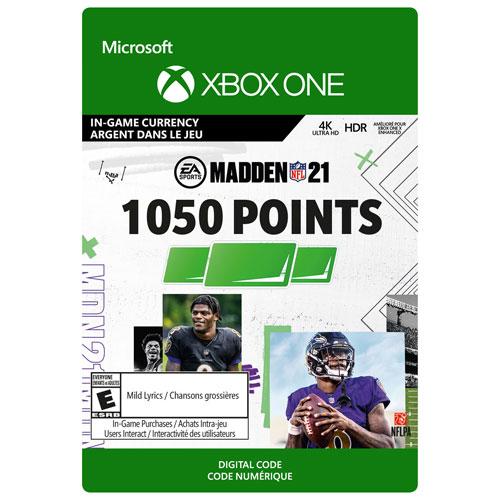 Madden NFL 21 - 1050 Madden Points - Digital Download