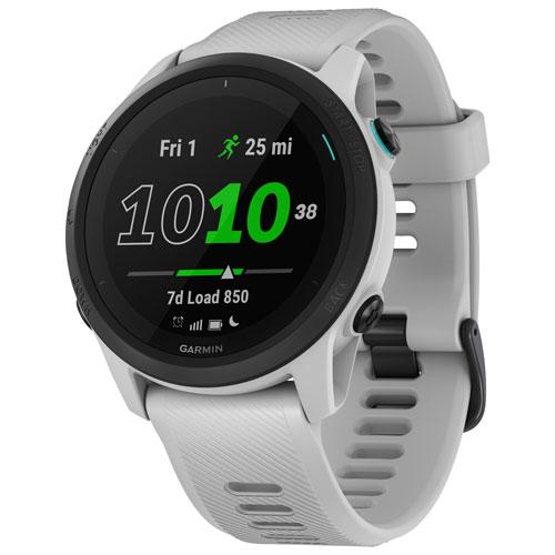 Garmin Forerunner 745 GPS Watch with Heart Rate Monitor - Large - Whitestone