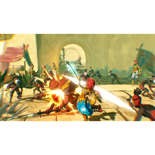 Hyrule Warriors Age Of Calamity Switch Best Buy Canada