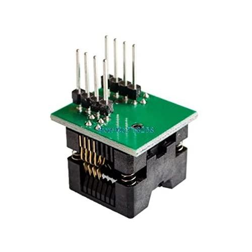 Artshu 5pcs//lot SOIC8 Turn DIP8 SOP8 to DIP8 IC Socket Programmer Adapter Socket