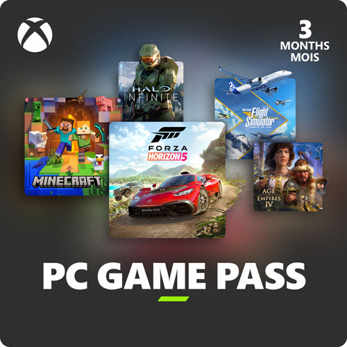 Xbox Game Pass for PC 3-Month Membership - Digital Download