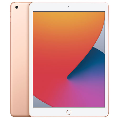 """Apple iPad 10.2"""" 128GB with Wi-Fi (8th Generation) - Gold 