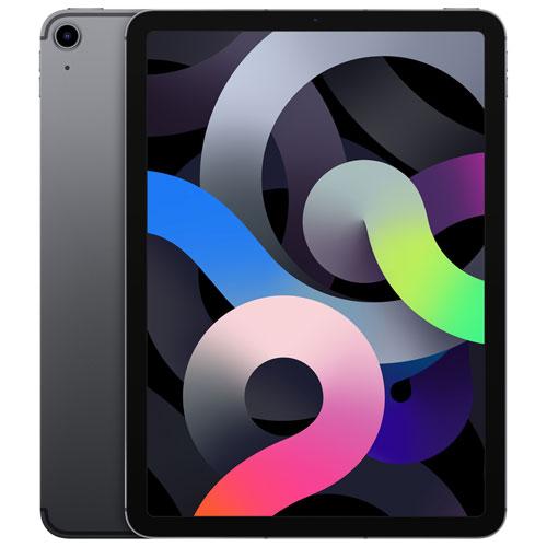 "Apple iPad Air 10.9"" 64GB with Wi-Fi & 4G LTE - Space Grey"