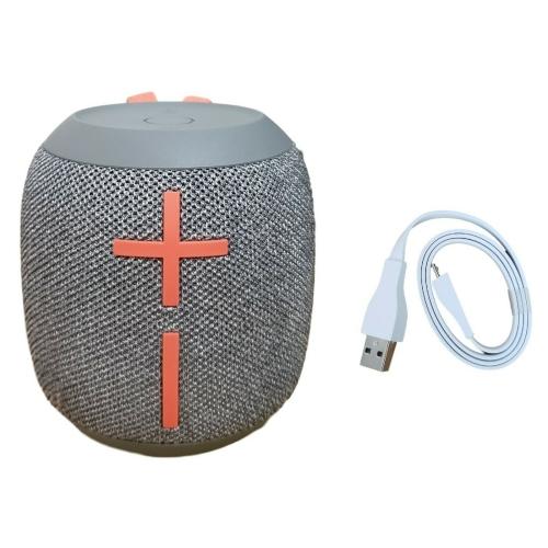 Ultimate Ears UE Wonderboom 2 Portable Waterproof Bluetooth Speaker Crushed Ice Gray - Certified Refurbished