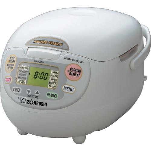 Zojirushi Neuro Fuzzy Rice Cooker & Warmer NS-ZCC18, 10 Cups