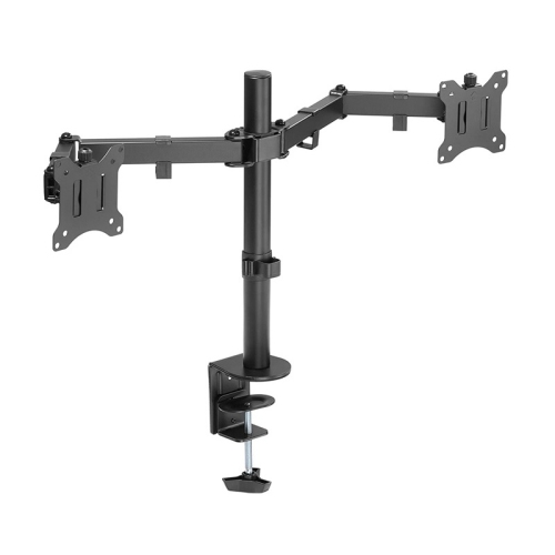 """AMER Dual Monitor Desk Mount with C-Clamp 