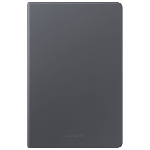 Étui folio à rabat rigide pour tablette Galaxy Tab A7 de Samsung - Gris foncé