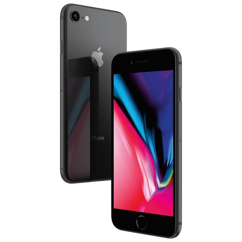 Apple iPhone 8 64 Go Téléphone Intelligent - Gris cosmique - Déverrouillé - Certifié remis à neuf