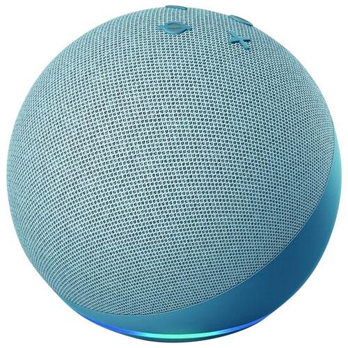 Haut-parleur intelligent Echo Dot d'Amazon avec Alexa - Bleu crépuscule