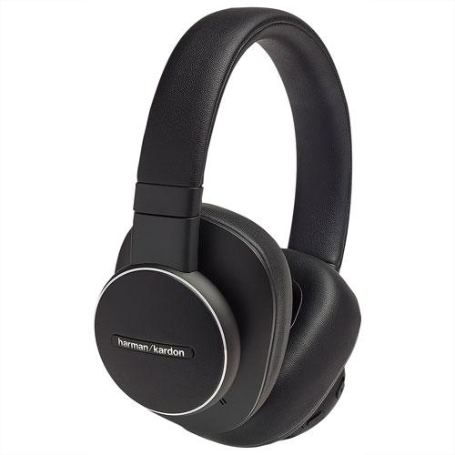 Harman Kardon FLY ANC Over-Ear Noise Cancelling Bluetooth Headphones - Black