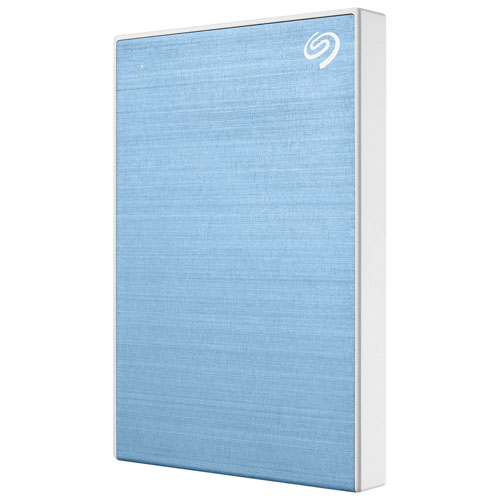 Seagate One Touch 2TB USB 3.0 Portable External Hard Drive - Blue