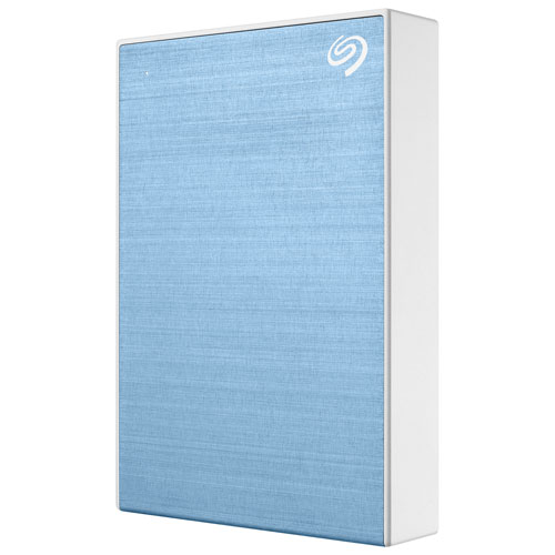 Seagate One Touch 4TB USB 3.0 Portable External Hard Drive - Blue