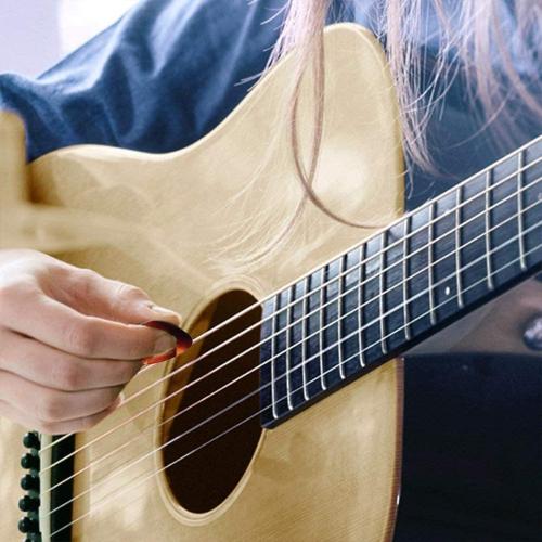 Plastic Shrapnel for Electricity Original Sound Pickups 8Pcs Guitar Pick
