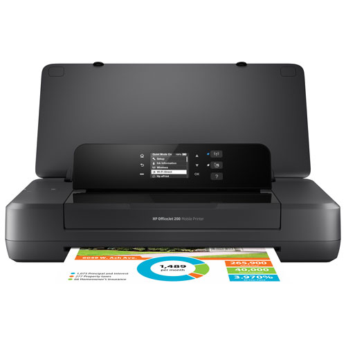 HP OfficeJet 200 Wireless Mobile Inkjet Printer