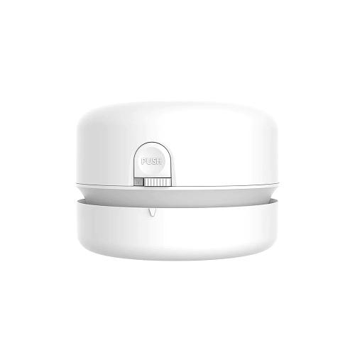Desk Set Vacuum Cleaner Wireless Auto Mini Portable Dust Sweeper For School/Classroom/Home/Office Desk - White