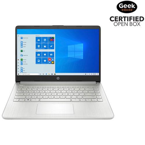 "HP 14"" Laptop - Natural Silver - Open Box"