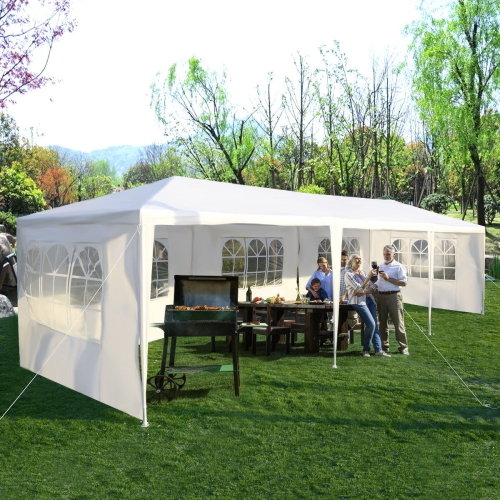 Costway 10'x30' Party Wedding Outdoor Patio Tent Canopy Heavy duty Gazebo Pavilion Event