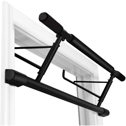 Stanz Chin Up Bar Multi-Grip Pull Up Bar Doorway Trainer for Home Gym, Holds Up to 400 lb