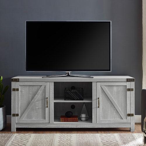 "Winmoor Home 65"" TV Stand - Stone Grey"