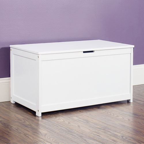 Forever Eclectic Harmony Toy Box - Matte White
