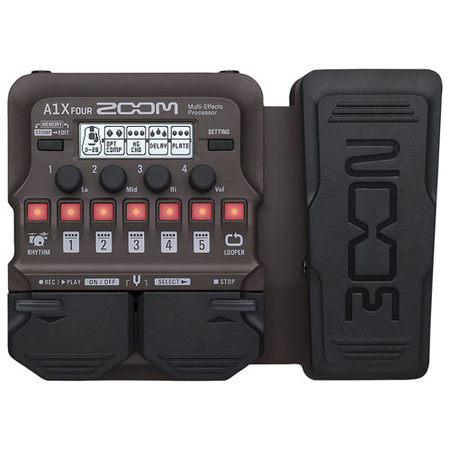 Zoom Acoustic Multi-Effects Processor Pedal