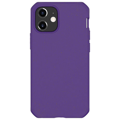 Feronia Bio Terra DropSafe Biodegradable Case for iPhone 12 mini - Purple