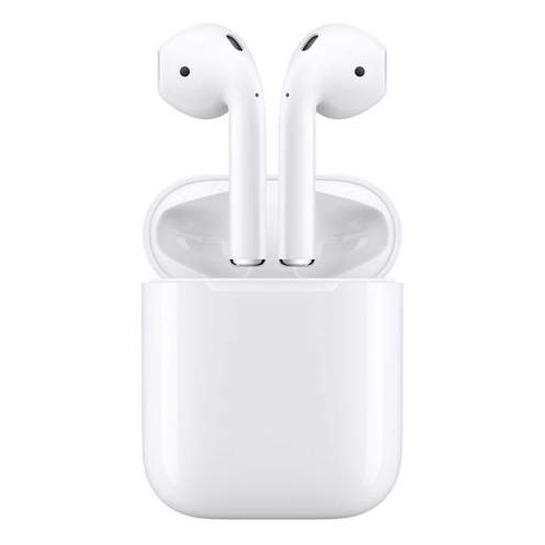 APPLE AIRPODS WIRELESS HEADPHONES WITH CHARGING CASE - 1ST GENERATION - REFURBISHED