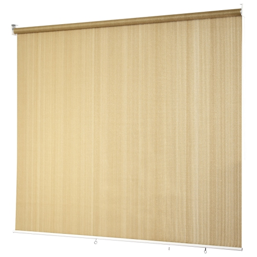 Costway Roller Shade Light Filtering 95% Rays Protection Window Shade Blind 6'x6'