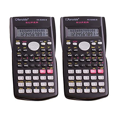 Statistical Calculator with Protective Hard Cover Teachers ...