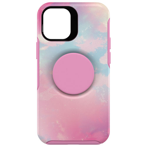 OtterBox Otter + Pop Symmetry Fitted Hard Shell Case for iPhone 12 mini - Pink