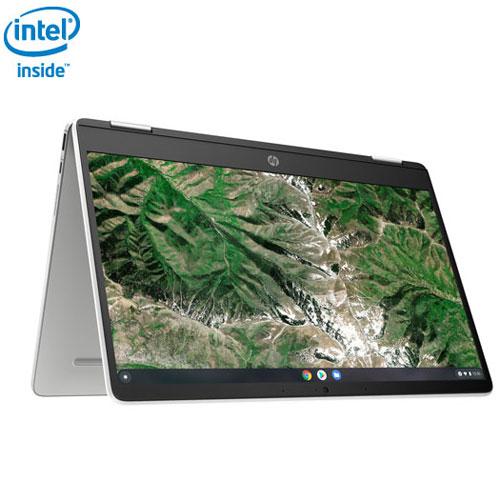 "HP x360 14"" Touchscreen 2-in-1 Chromebook - Silver"