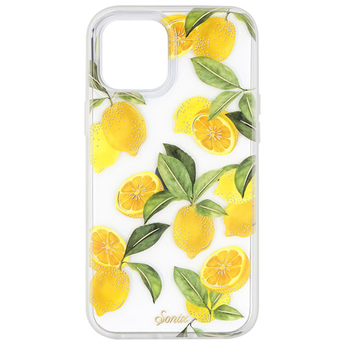 Sonix Clear Coat Fitted Soft Shell Case for iPhone 12 Pro Max - Lemon Zest