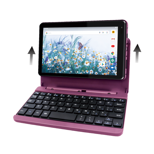Rca Voyager Pro 7 Tablet 2gb Ram 16gb Storage With Removable Keyboard Wifi Touch Android 10 Burgundy Best Buy Canada