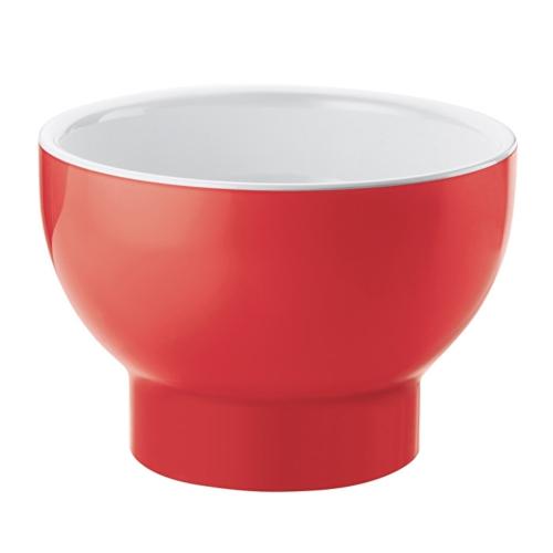 Guzzini Vintage Plus Two-Tone Bowl 200cc - White/Red