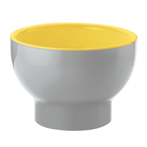 Guzzini Vintage Plus Two-Tone Bowl 200cc - Yellow/Grey