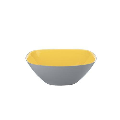 Guzzini Vintage Plus Small Two-Tone Bowl 200cc - Yellow/Grey