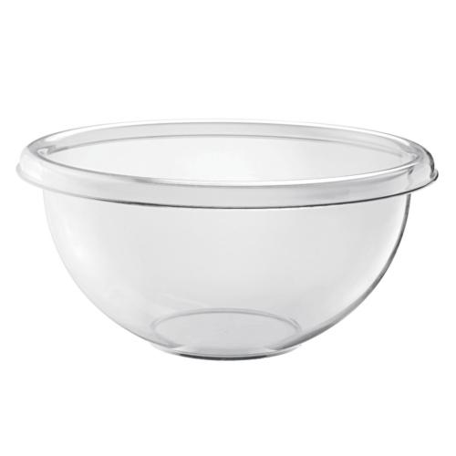 Guzzini Happy Hour Salad Bowl 35cm - Volume 11L - Clear